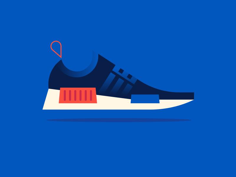 Apple pt. IV nmd sneaker shoe adidas