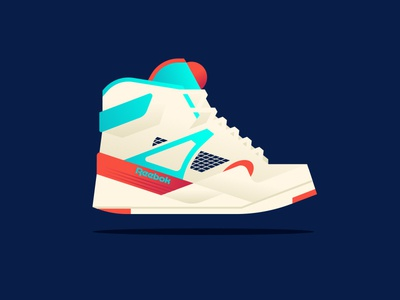 Apple pt. VIII sneaker shoe pump reebok