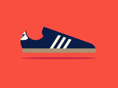 Apple pt. IX samba sneaker shoe adidas