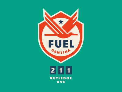 Fuel Cantina crest wings star tropical bird station gas restaurant food