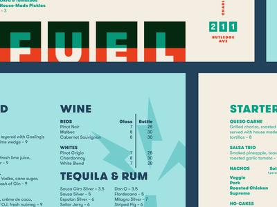 Fuel Cantina pt. III bolt spark gas restaurant food menu