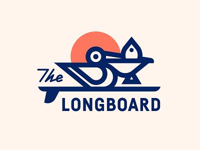 The Longboard pt. XII restaurant fish sun surf surfboard bird pelican