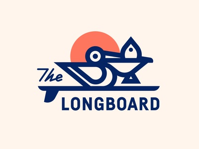 The Longboard pt. XII restaurant fish sun surf surfboard bird pelican
