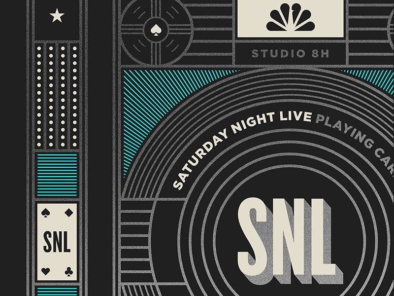 Saturday Night Live pt. III ace playing cards comedy snl tv television nbc