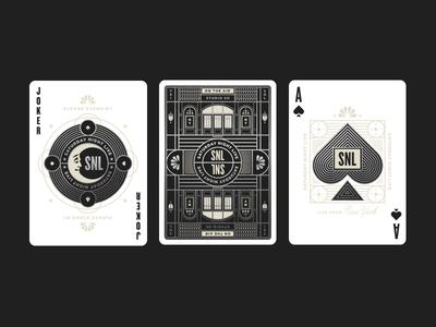 Saturday Night Live pt. IV tv television nbc moon spades ace deck cards