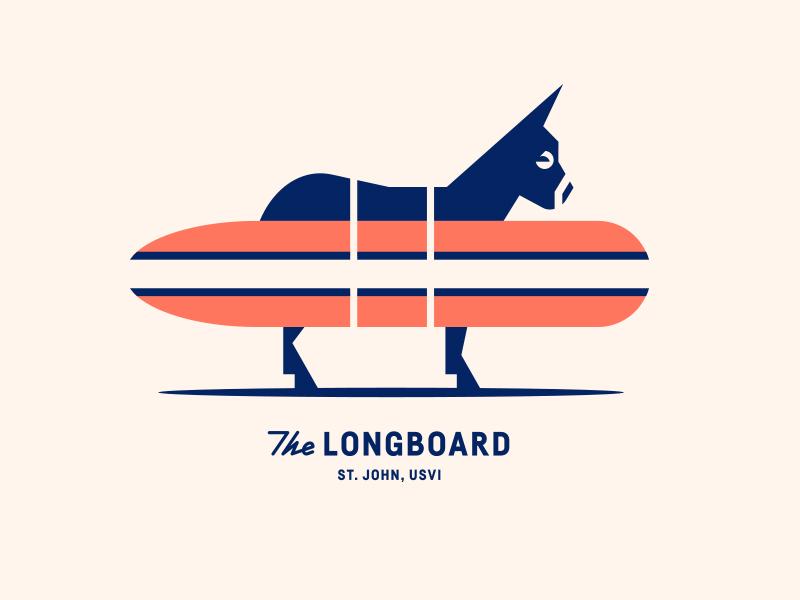 The Longboard pt. XVII restaurant food palm sun fish island waves surfboard surf donkey