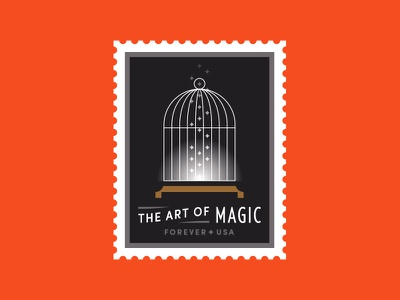 USPS pt. V vanish disappear usa stars trick magician magic cage bird