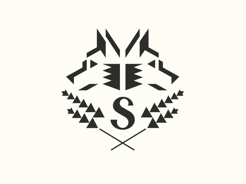 Sneaker crest badge charleston lavender wolves wolf
