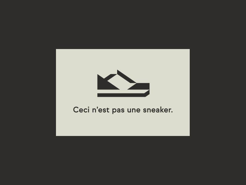 Sneaker pt. III shoe