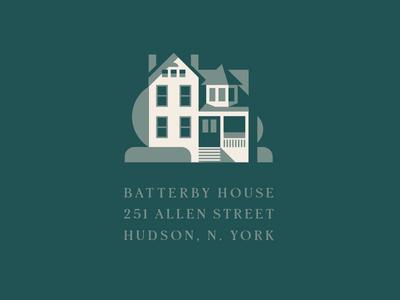 Batterby House pt. II street hudson new york home hotel inn
