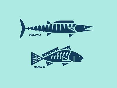 Nuavu pt. II flounder redfish wahoo water seafood sea ocean fish