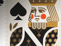 King spades usps jay fletcher