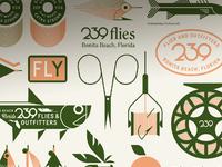 239 flies dribbble jay fletcher