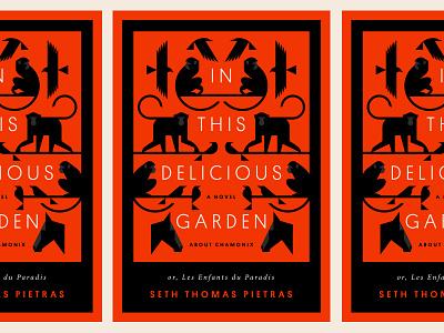 In This Delicious Garden crow horse bird raven monkey cover book