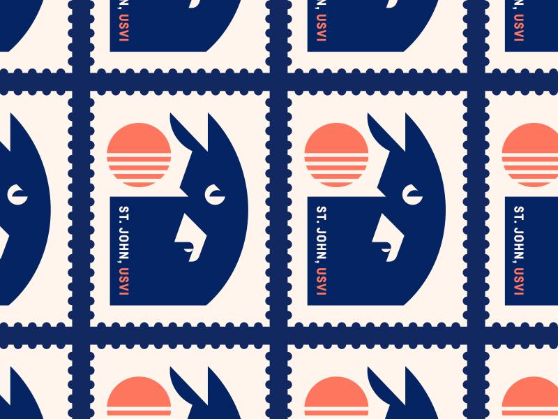 The Longboard pt. XXII caribbean stamp island water ocean sunset sun donkey
