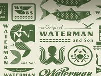 Waterman and son j fletcher