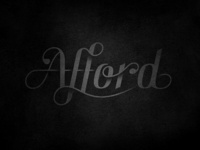 Afford pt. II