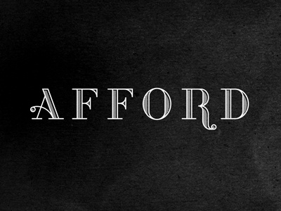 Afford pt.iii j fletcher charleston