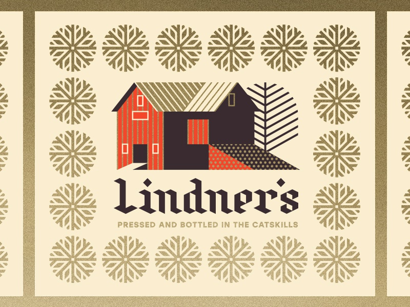 Lindner's Cider pt. II apple york new house tree cider barn snowflake snow
