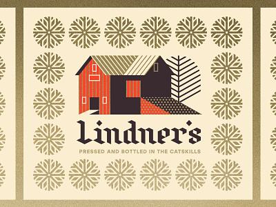 Lindner's Cider pt. II apple york new house tree cider barn snowflake snow