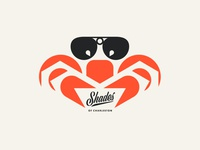 Shades pt. II ocean beach sunglasses glasses crab