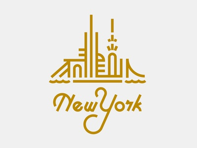 New york by jay fletcher dribbble for New york designers