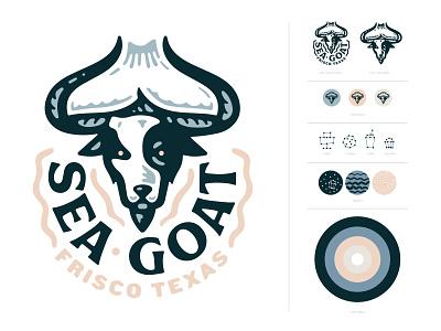 Sea Goat Bakery bakery sea goat logo