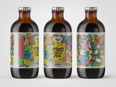 Beer Label II wip beer illustraion texture color branding craft beer lettering icon type illustration
