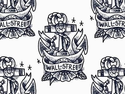 Sketch IV anchor illustration tattoo sketch