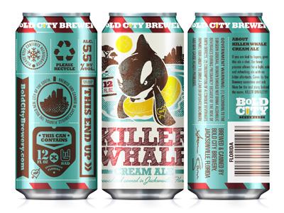 Boldcitybrewery killerwhale packaging kendrickkidd