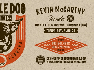 Brewery business cards in progress by kendrick kidd dribbble shot 1299244989 colourmoves