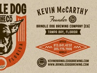 Brewery Business cards in progress