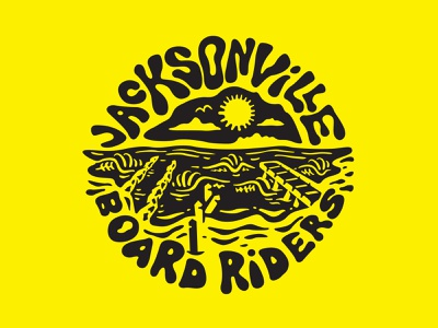 Badge surfing board riders jacksonville