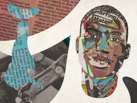 Collage IV ishod magazine thrasher skateboarding illustration art collage
