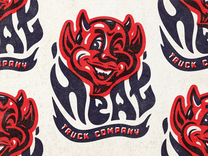 branding fire hot skateboarding trucks devil heat