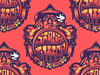 BADGE COLLAB 2020 stoner witch melvins badge music