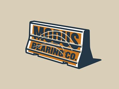 illustration apparel skateboarding bearings modus