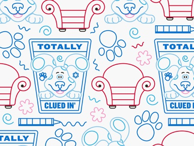 illustration assets illustration nickelodeon blues clues