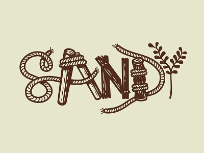 SpongeBob sponge on the run type lettering assetes spongebob