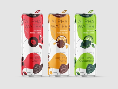Hard Seltzer Packaging alpha water shepherd can new realm brewing packaging hard seltzer