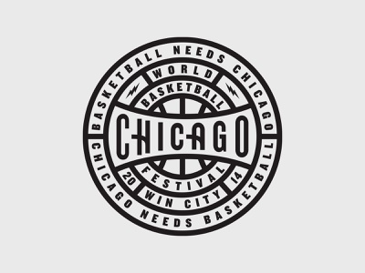 Badge chicago badge nike world basketball festival