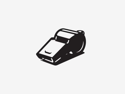Icon VI icon whistle wip bw