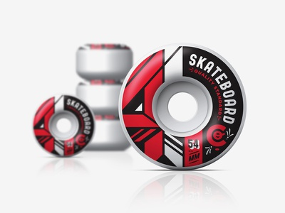 4 Skateboard Co Wheels skateboarding wheels 4 54 mm kendrick kidd