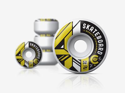 4 Skateboard Co Wheels kendrick kidd 52 mm 4 wheels skateboarding