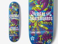Real Skateboards - Chima Ferguson