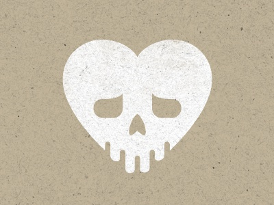 Theatre Poster Element heart skull