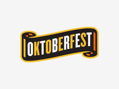 Oktoberfest II poster illustration design oktoberfest hoptinger beer
