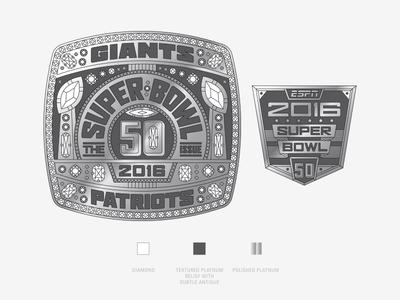 Illustration superbowl ring ring super bowl espn process illustration