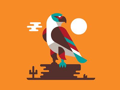 Illustration illustration spork hawk