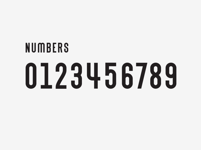 Numbers its a trap numbers font letters